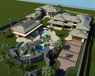 Mele Komo - Hawaii Luxury Homes Architect Designer Builder Jeff Long