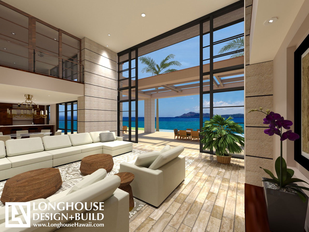 Hawaii architects and interior design longhouse design for Luxury residential interior designer